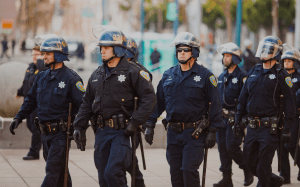 Voluntarily funded police agencies