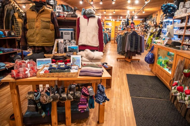 Ski Shop that Gives Back