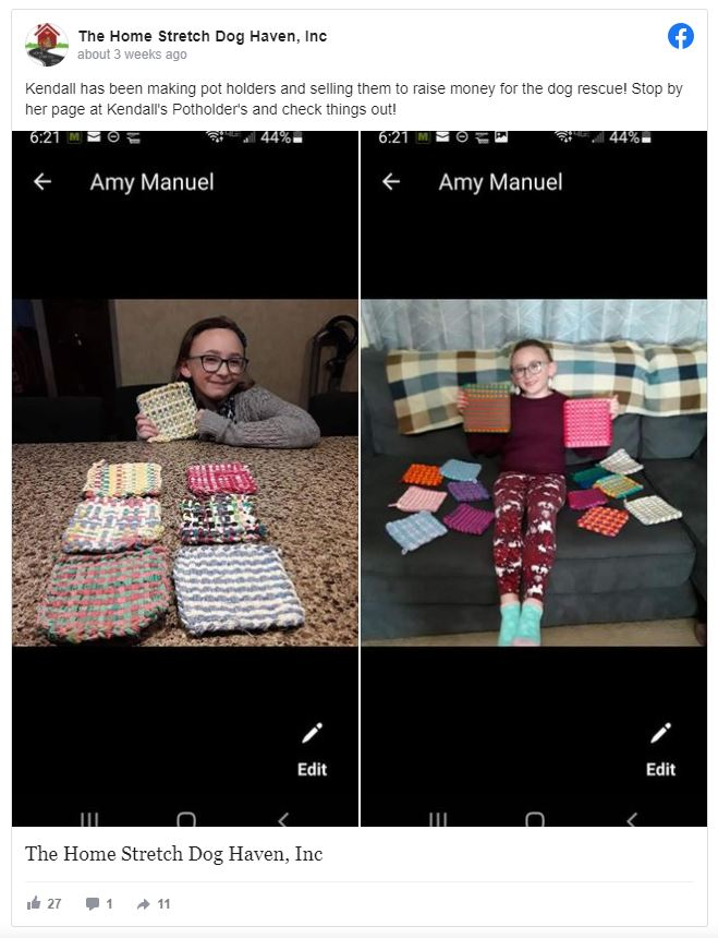 8-Year-Old Donates Money to Children's Hospital and Animal Rescue