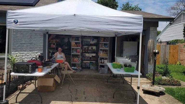 garage food pantry